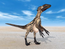 Dinosaur Deinonychus Royalty Free Stock Photography