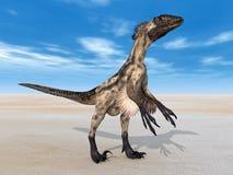 Dinosaur Deinonychus Illustration Libre de Droits