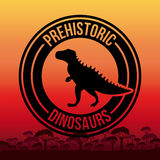 Dinosaur design Stock Images