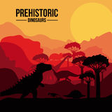 Dinosaur design Royalty Free Stock Photo