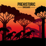 Dinosaur design Stock Photography
