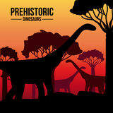 Dinosaur design Royalty Free Stock Image