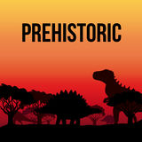 Dinosaur design Royalty Free Stock Photography