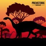 Dinosaur design Royalty Free Stock Photo