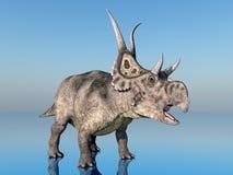 Dinosaur Diabloceratops Stock Photography