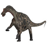Dinosaur Dicraeosaurus Photo stock