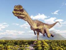 Dinosaur Dilophosaurus Stock Photography