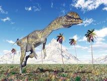 Dinosaur Dilophosaurus Royalty Free Stock Images