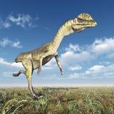 Dinosaur Dilophosaurus Royalty Free Stock Image