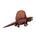 Dinosaur:dimetrodon Stock Photo