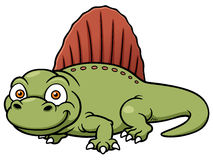 Dinosaur dimetrodon Royalty Free Stock Image