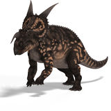 Dinosaur Einiosaurus. With Clipping Path Royalty Free Stock Photo