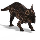 Dinosaur Einiosaurus Stock Image