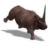 Dinosaur Elasmotherium Royalty Free Stock Image