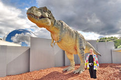 Dinosaur exhibition Royalty Free Stock Images