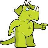 Dinosaur fâché Image libre de droits