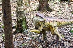 dinosaur för clipping 3d över white för velociraptor för banaframförandeskugga arkivfoto