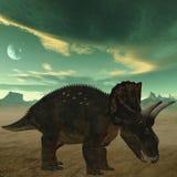 dinosaur för diceratops 3d Royaltyfria Bilder