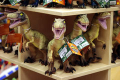 Dinosaur figures Royalty Free Stock Image