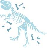 Dinosaur Fossils Royalty Free Stock Photos