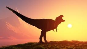 The dinosaur Royalty Free Stock Photo