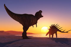The dinosaur Stock Photography
