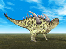 Dinosaur Gigantspinosaurus Stock Photos