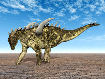 Dinosaur Gigantspinosaurus Stock Images
