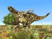 Dinosaur Gigantspinosaurus Stock Image