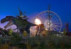 Dinosaur Golf Niaraga Falls, Ontario, Canada 2 Royalty Free Stock Photos