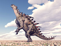 Dinosaur Huayangosaurus Stock Photography