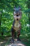 Dinosaur. Huge dinosaur in the forrest royalty free stock photos