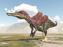 Dinosaur Ichthyovenator Royalty Free Stock Images
