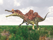 Dinosaur Ichthyovenator Stock Images