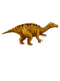 Dinosaur:iguanodon Royalty Free Stock Photography