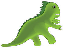 Dinosaur  illustration. Kid of dinosaur  illustration Royalty Free Stock Images