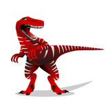Dinosaur illustration. T-rex dinosaur illustration. Dinosaur illustration. T-rex dinosaur vector illustration Royalty Free Stock Photography