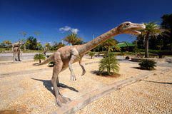 Dinosaur. Image of dinosaurs in archaeology site in province of Khonkean, Thailand Stock Photo