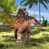 Dinosaur Kentrosaurus Royalty Free Stock Images