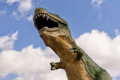 Dinosaur attack Stock Photos