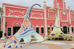 Dinosaur Made From Mosaics Royalty Free Stock Images