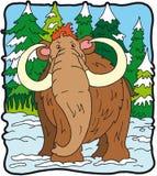 Dinosaur mammoth. Dinosaur mammuth,large mammal Vegetarian Stock Photos