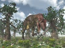Dinosaur Mapusaurus Royalty Free Stock Photo