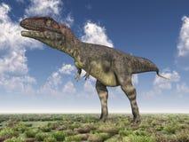 Dinosaur Mapusaurus Royalty Free Stock Photography