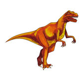 Dinosaur:megalosaur Royalty Free Stock Photography