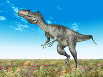 Dinosaur Megalosaurus stock illustration