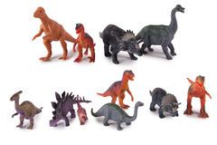 Dinosaur model toys Stock Photography