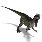 Dinosaur Monolophosaurus Stock Image