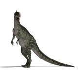 Dinosaur Monolophosaurus Stock Images