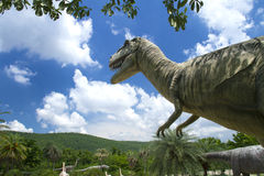 Dinosaur Museum. Phu Wiang Dinosaur Museum Wiang Kao district, Khon Kaen province.Thailand, Phu Wiang National Park had been established in 1991 Royalty Free Stock Photo